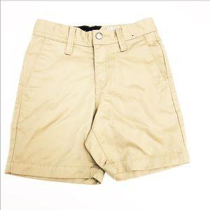 Volcom Boys Khaki Shorts | SZ 3T